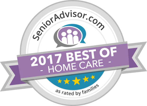 2017 Senior Advisor Best of Home Care Award